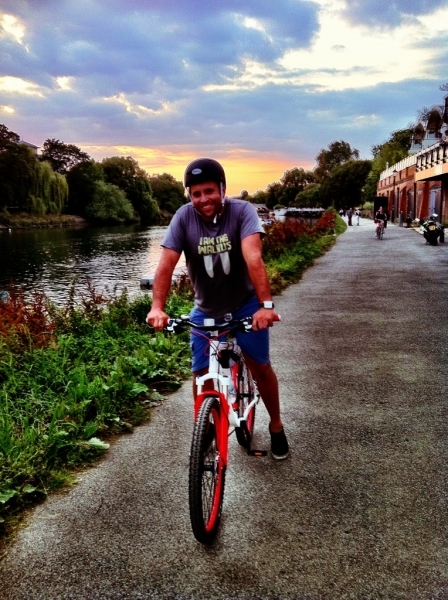 [Image: Image by @PhilipBloom - Awesome ride! #specializedrockhopper rocks! #getfitat40 #apt-shirt #fb  on Propic]