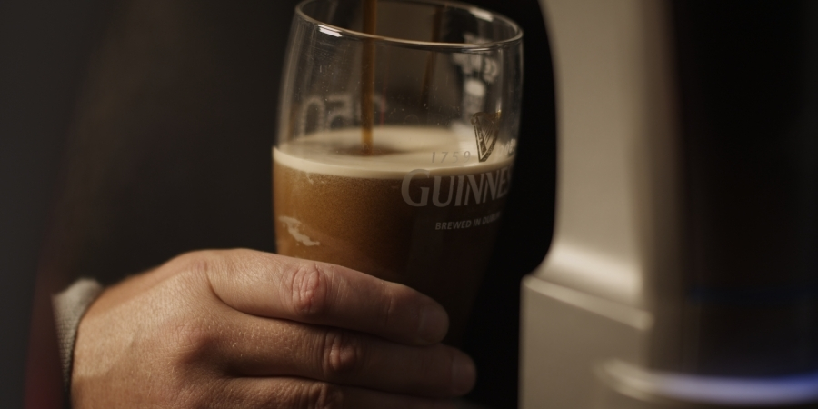 [Image: Guinness by @PhilipBloom - thirsty? Part of our group&#039;s filming yesterday on the EPIC at 5k 96fps @ #REDucation #fb on Propic]