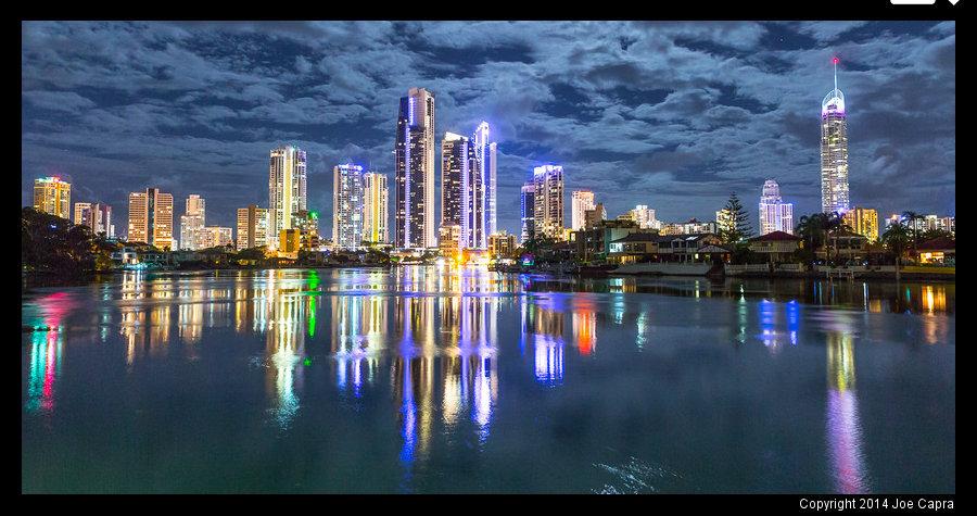 Joe Capra - Gold Coast Skyline, Queensland Australia on ProPic