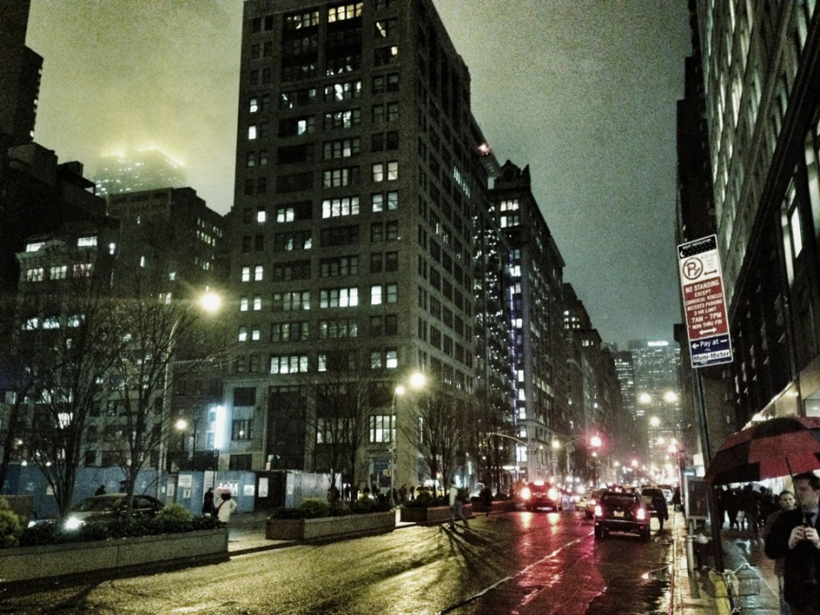 [Image: Image by @LordOfVisions - Park & 27th. Upper left is Empire State Building shining through the clouds.   #nyc #photography on Propic]