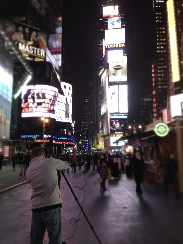 [Image: Photo by @MNS1974 - Shooting in Time Square with @miss_h_bomb and @yaelshulman on Propic]