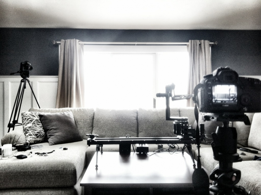 [Image: Image by @joelgraves - setup for @KesslerCrane 3-axis Time Lapse tutorial #smartlapse on Propic]