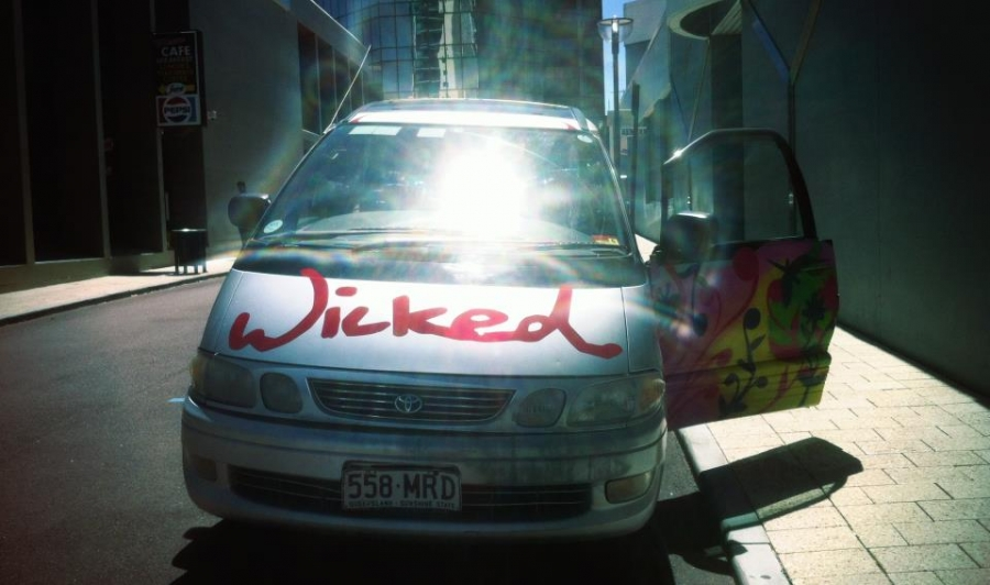 [Image: wicked by @drkanab - Checked out of our hotel &amp; got our Wicked camper van for 3 weeks of astro timelapse shooting around western Australia :D on Propic]
