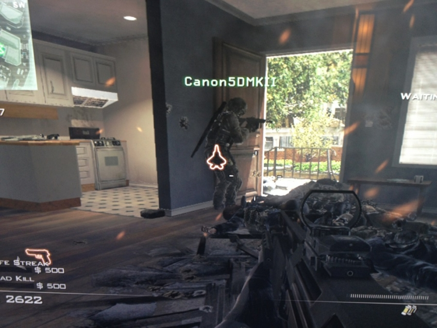 [Image: Image by @vincentlaforet - Sick at home playing XBOX and guess what a random teammate's avatar is? Can't make this stuff up! on Propic]