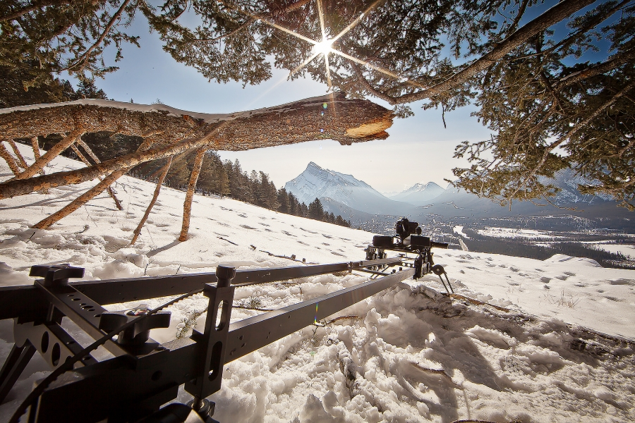 [Image: Banff Alberta Shuttlepod by @PrestonKanak - @kesslercrane shuttlepod setup in Banff Alberta with @m_curtis.  on Propic]