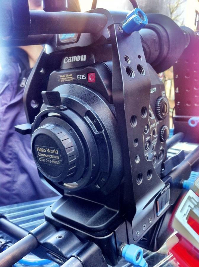 [Image: Image by @AlexBuono - C300 with PL-mount...now we're talking! on Propic]