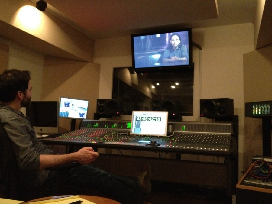 [Image: Image by @josh_diamond - Final audio mix for @dankojones doc with @jasondiamond. Another late night. Good thing we have understanding wives. on Propic]