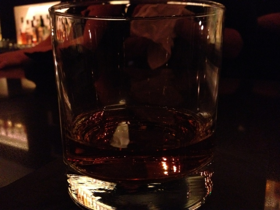 [Image: Image by @josh_diamond - Nice glass of Blanton's to round out the night at the Cosmo with @jasondiamond and @MNS1974 on Propic]