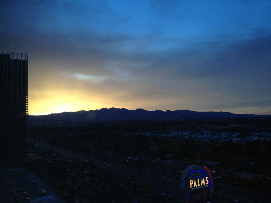 [Image: Image by @josh_diamond - Goodnight Vegas. Another day done @NABShow on Propic]
