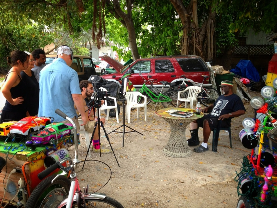[Image: Image by @PhilipBloom - Crazy subjects being filmed for the #FilmmakingMasterclass Key West docos! on Propic]