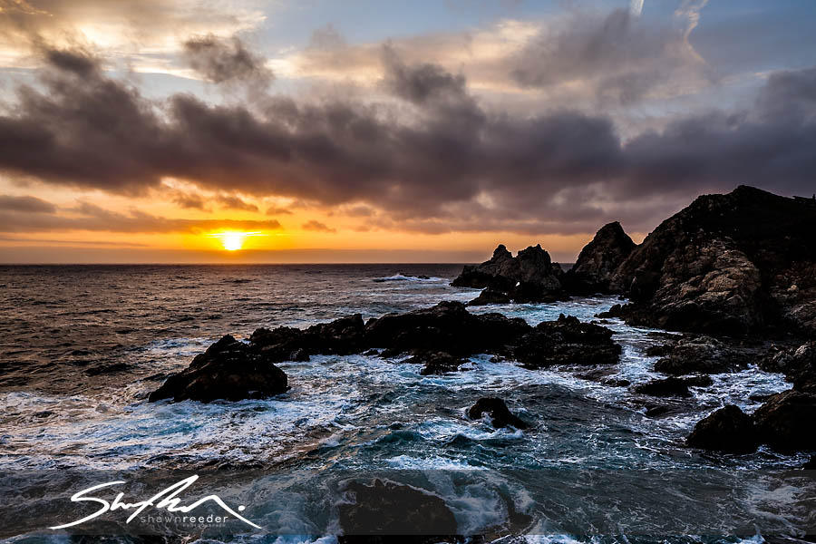 [Image: Rocky Point Sunset by @shawnreeder - Such a gorgeous sunset tonight at Big Sur. I love it here.  on Propic]