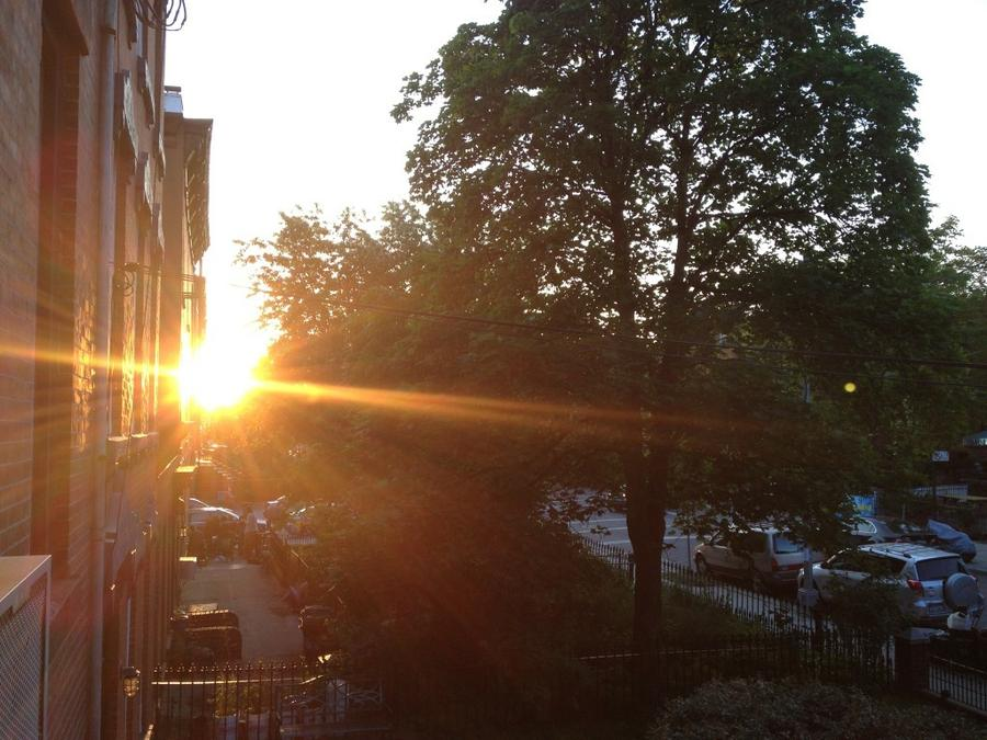 [Image: Image by @josh_diamond - The end of a beautiful day in Brooklyn. Hope everyone enjoyed it. on Propic]