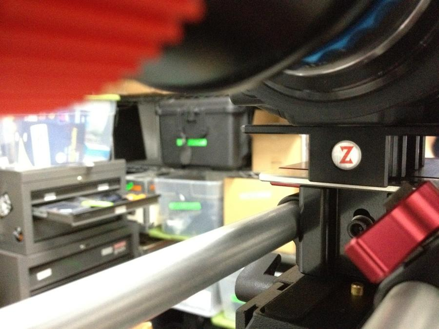 [Image: Image by @goforjared - More photos of @SonyProUSA prep @Zacuto plate kicks ass. on Propic]