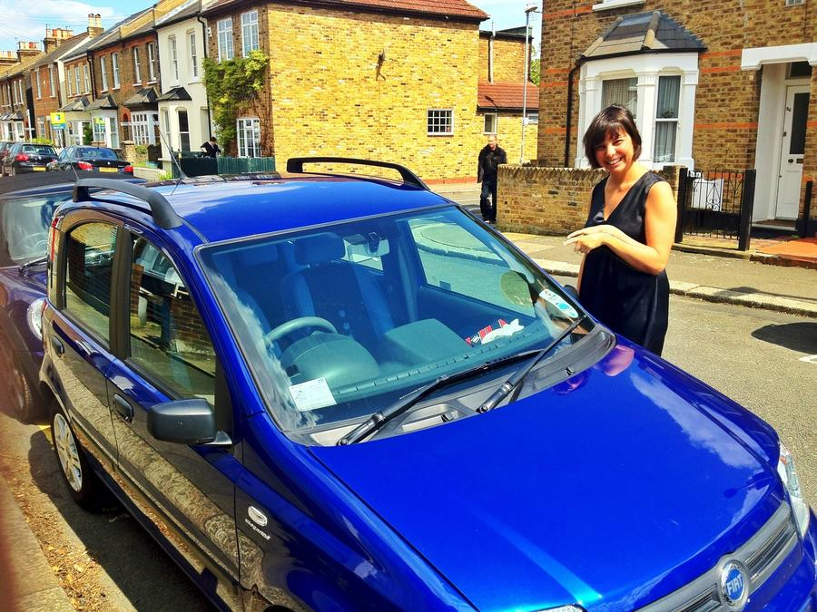 [Image: Image by @PhilipBloom - Blimey! @sestela72 has got a car for herself! A cute Fiat Panda! on Propic]