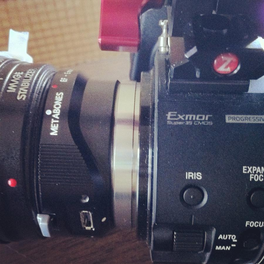 [Image: Image by @mjeppsen - Metabones electronic EF mount on FS100. Perfect combo for docu with the Canon 24-105mm IS. on Propic]