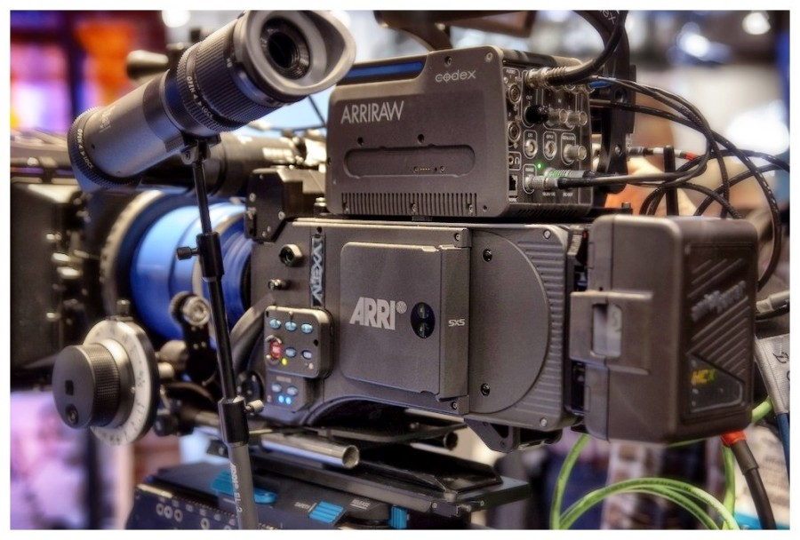 [Image: Photo1 by @MNS1974 - @ARRIChannel Alexa Studio with Codex and Zeiss anamorphic prototype lens on Propic]