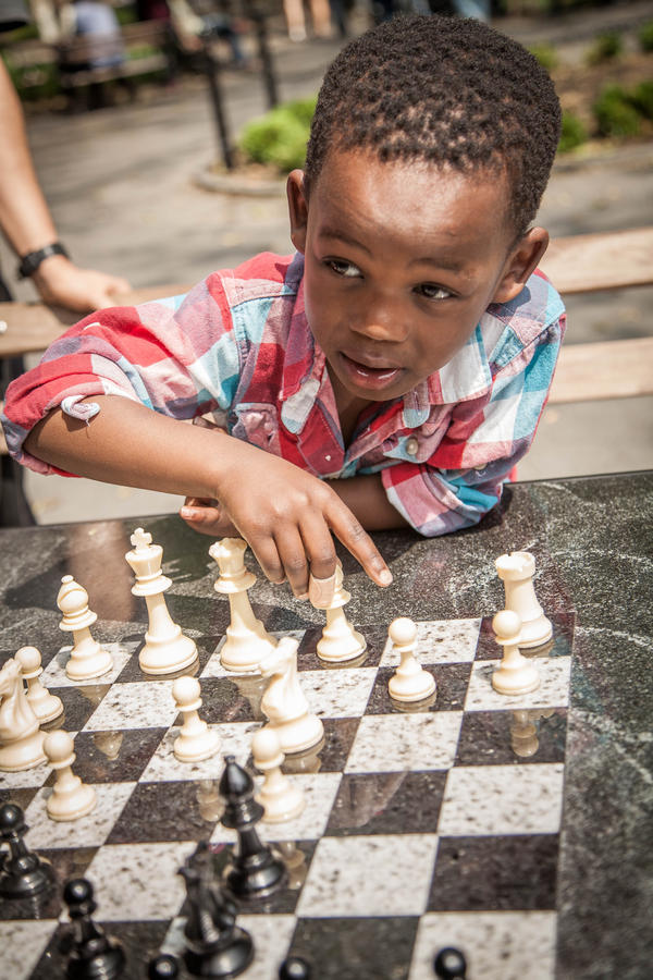 [Image: Chess by @PrestonKanak - Mthobisi pondering his next move. @mymatysio @karrnnel @MillerGabrielle #WashingtonPark on Propic]