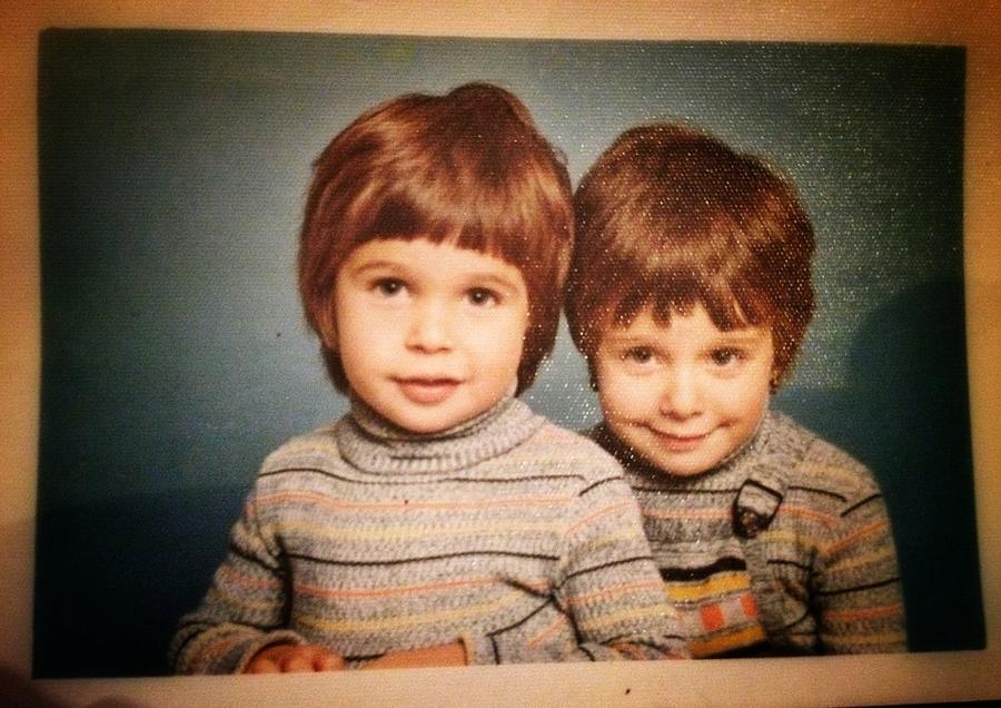 [Image: Image by @PhilipBloom - Me on left at 3. Have I changed?! on Propic]
