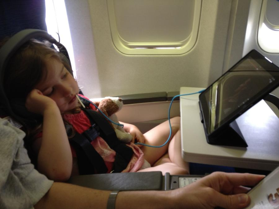 [Image: Image by @josh_diamond - One flight down and one to go. Someone is being an excellent traveller. on Propic]