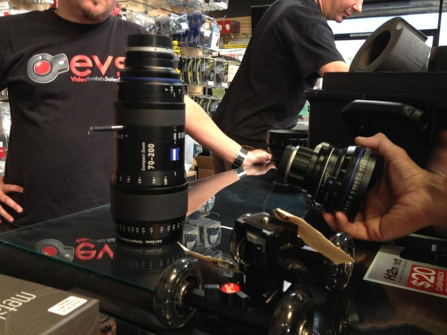 [Image: Image by @goforjared - New @CarlZeissLenses 70-200 at #EVS on Propic]
