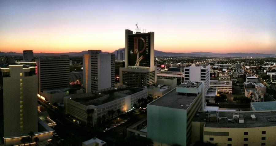 [Image: Image by @EricHinesPhotos - Sunrise in Vegas. Time for bed. on Propic]