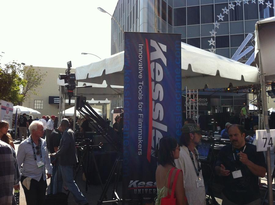 [Image: Image by @Drew599 - Got a chance to stop by the @KesslerCrane booth at #CineGear. Always a good time seeing those guys. on Propic]