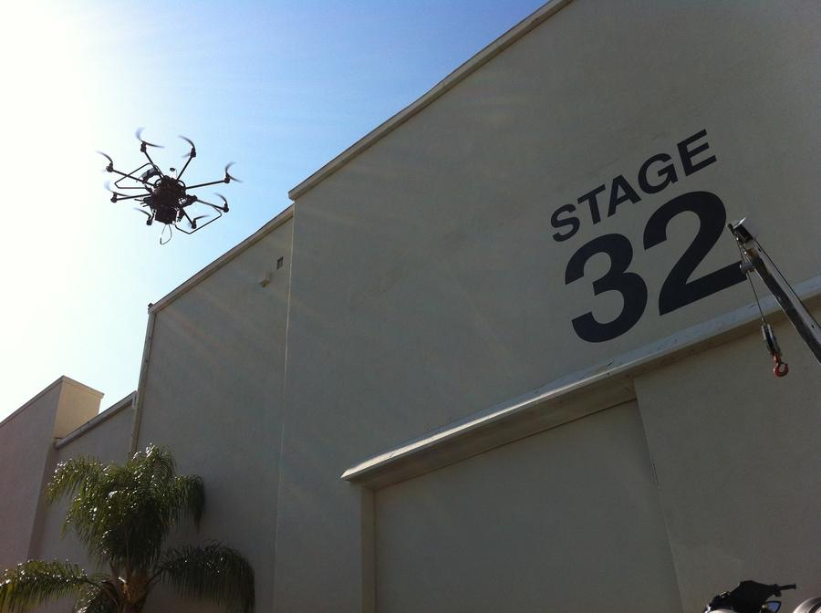 [Image: Image by @Drew599 - Got to see an #Epic fly around at #CineGear on Propic]