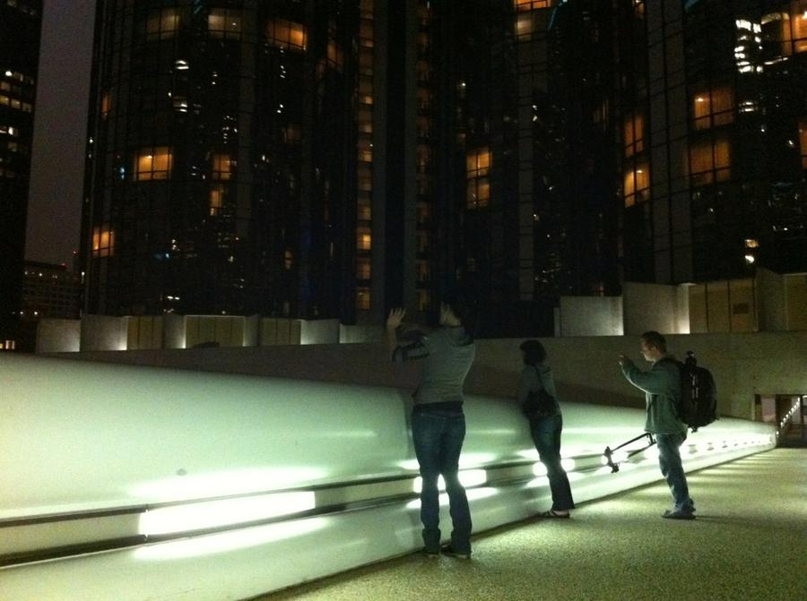 [Image: Image by @Drew599 - In downtown #LA with @JulieBrite @MNS1974 @Miss_H_Bomb shooting #timelapse on Propic]