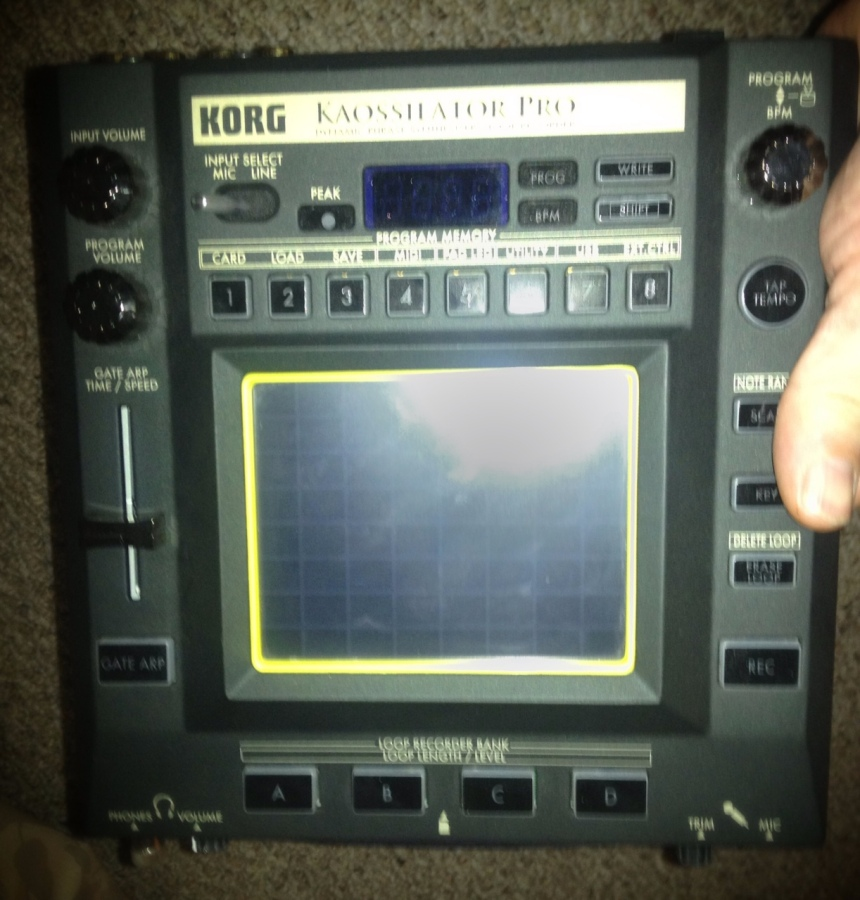 [Image: Photo by @MNS1974 - Korg Kaossilator Pro is amazing.  Love this thing. on Propic]