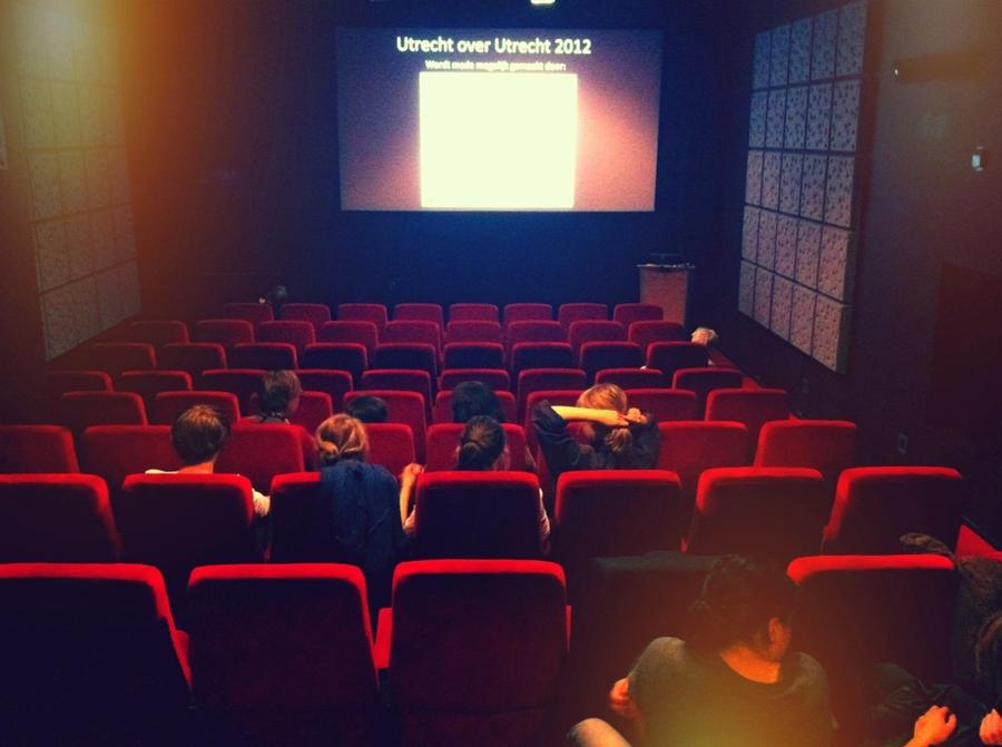 [Image: Image by @colinvdbel - In the cinema to watch and explain my short film! #UoU2012 #UoU12 #Utrecht on Propic]