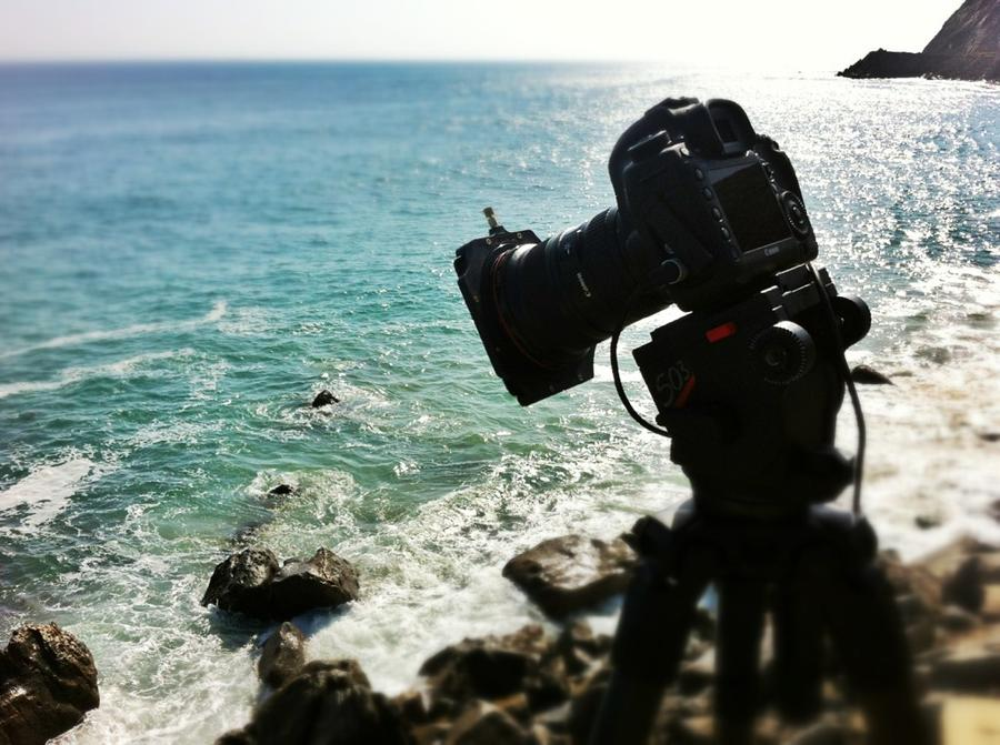 [Image: Image by @Drew599 - Doing some #BigStopper tests out near #Malibu on the #5D3. #timelapse on Propic]