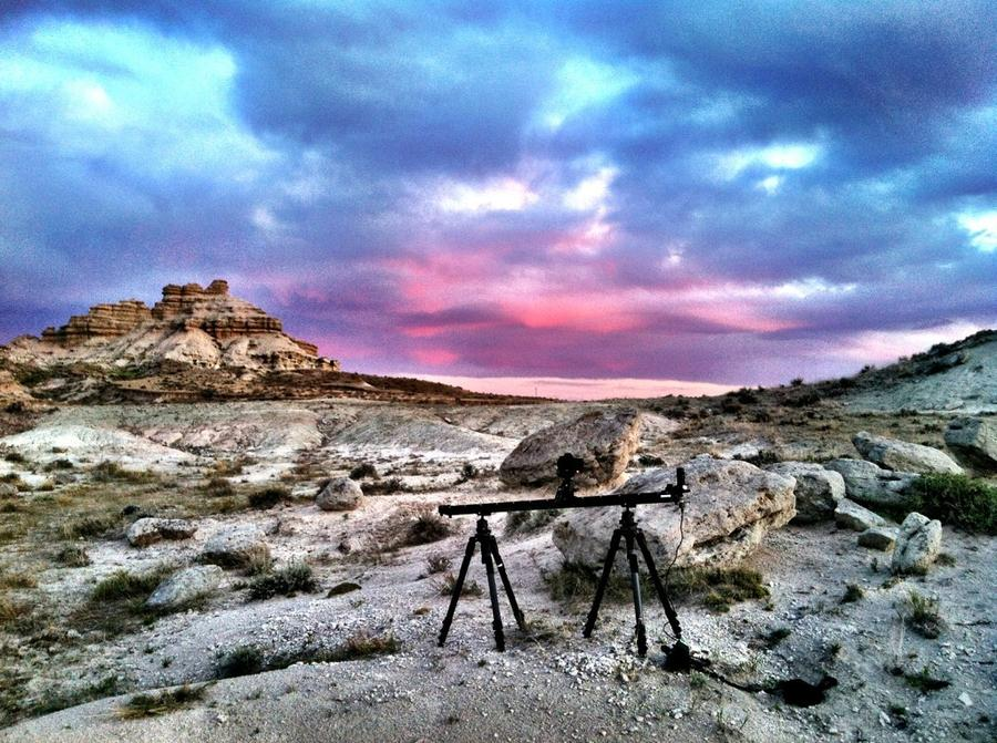 [Image: Image by @EricHinesPhotos - Shooting the sunset tonight on the @KesslerCrane 5ft Cineslider. Absolutely love this slider. on Propic]