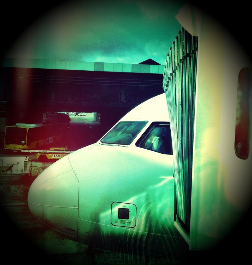 [Image: Image by @NinoLeitner - Finally en route to Madeira after forced stop over in Lisbon … my workshop at islands.doc starts in 6 hours! on Propic]