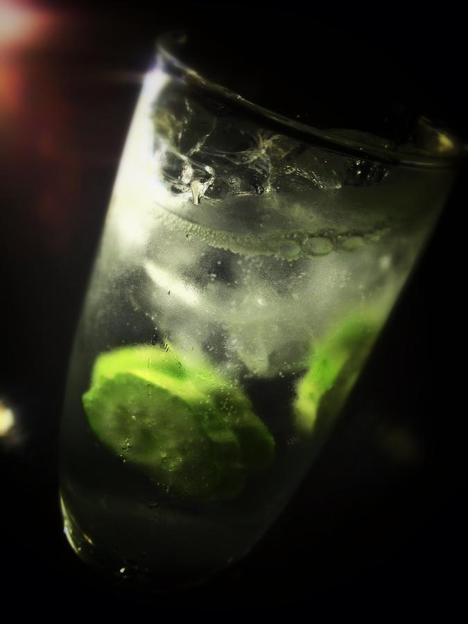 [Image: Image by @PhilipBloom - Found one! Hendricks and tonic on Seoul! Hurrah!!!! Work over!! on Propic]