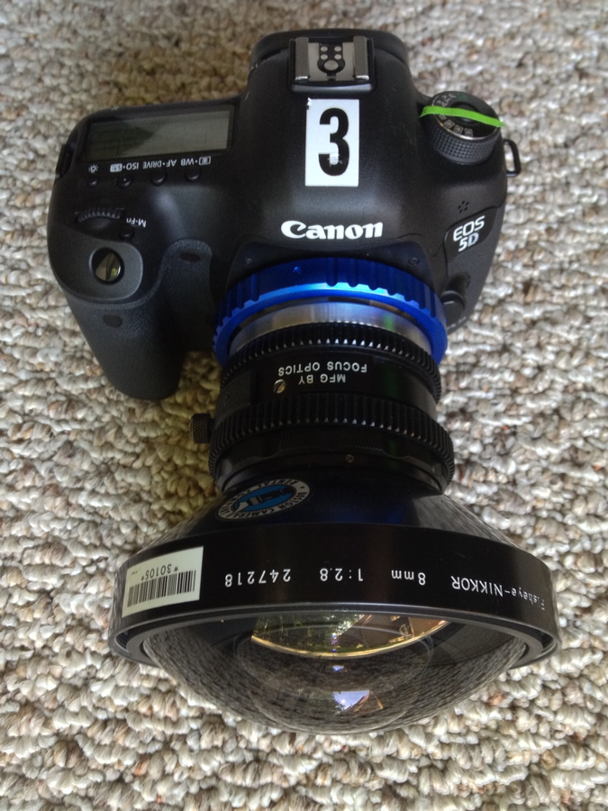 [Image: 5DMKIII w/ PL adapter + 8mm Nikkor Fisheye  by @MNS1974 - 5DMKIII w/ PL adapter   8mm Nikkor Fisheye  on Propic]