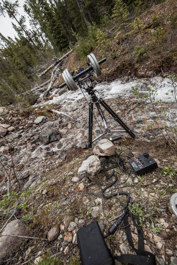 [Image: The Canadian Rockies by @PrestonKanak - @kesslercrane motorized pocket jib timelapse setup.  Can't wait to share my new short, 'The Canadian Rockies'. on Propic]