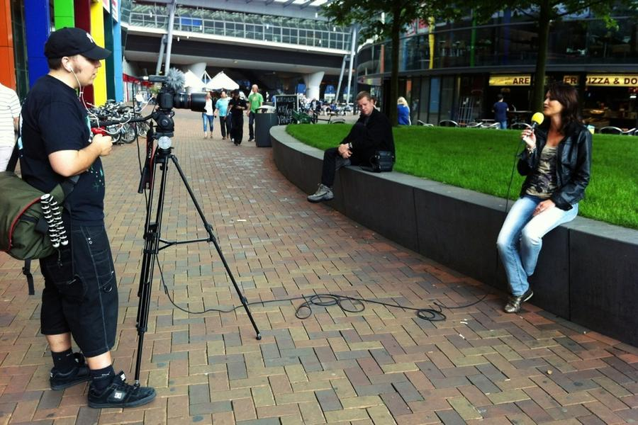 [Image: Image by @colinvdbel - Interviewing Roxette fans outside the venue jut before the concert on Propic]