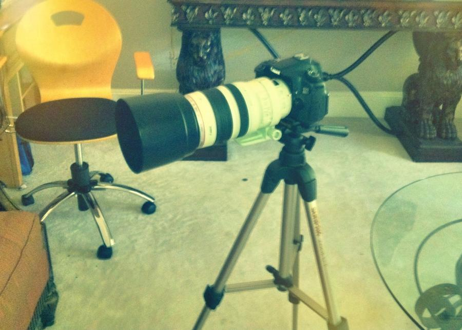 [Image: Image by @KrishanBansal - Setting up the Canon 60D with the 100-400mmL to go shoot some fireworks tonight in slow motion! on Propic]