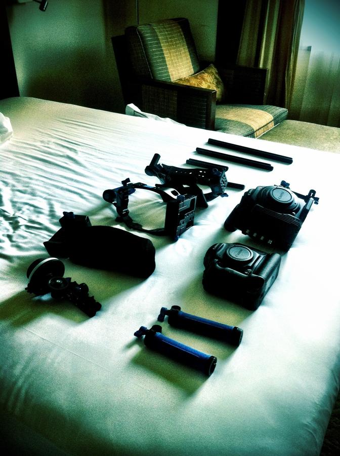 [Image: Image by @AlexBuono - Prepping #1DC and #C500, while pretend-prepping high powered rifle for top secret Treadstone job. Much cooler that way. on Propic]