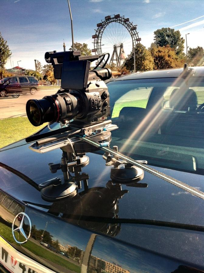 [Image: Image by @NinoLeitner - Driving Ms. C300 on our Mercedes with @a_bobo for GRIMM :) on Propic]