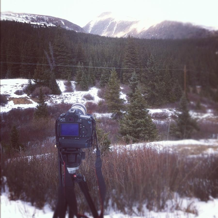 [Image: Image by @KrishanBansal - Timelapsing at a peak overlooking MT Quandry and a forest. on Propic]