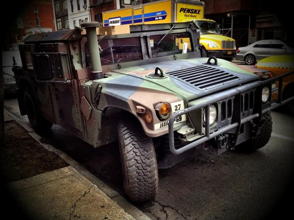 [Image: HMMWV Light Tactical Vehicle by @LordOfVisions - Vehicles for the urban landscape, part 1.
