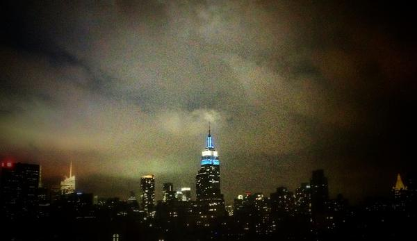 [Image: Image by @PhilipBloom - Rather incredible view from my hotel room in New York on Propic]