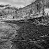 [Image: Yellowstone River, BW by DanielPDunn]