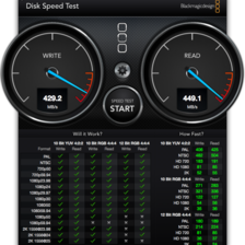 [Image: DiskSpeedTest by DouglasShill]