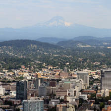 [Image: Portland Skyline Day by finer]