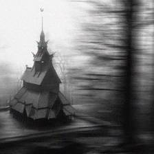[Image: Fantoft Stave Church]