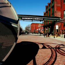 [Image: Distillery District]