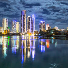 [Image: Gold Coast Skyline by scientifantastic]