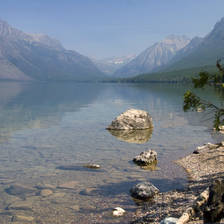 [Image: Glacier National Park view from Lake McDonald - Montana]